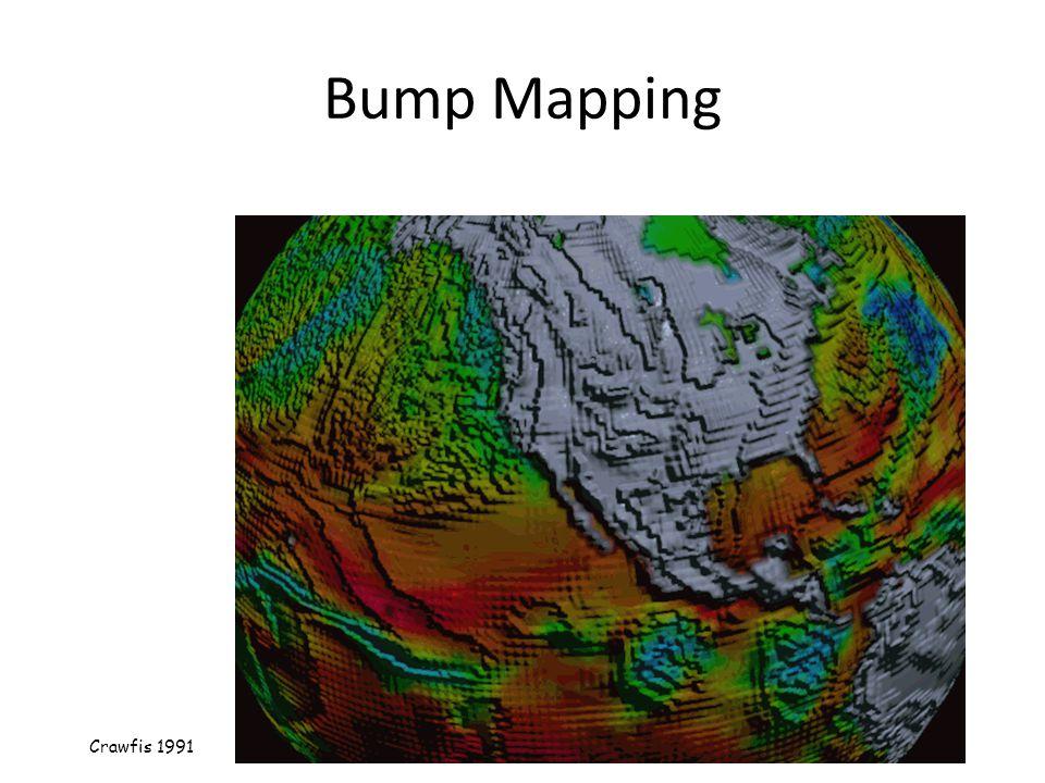 Bump Mapping Crawfis 1991