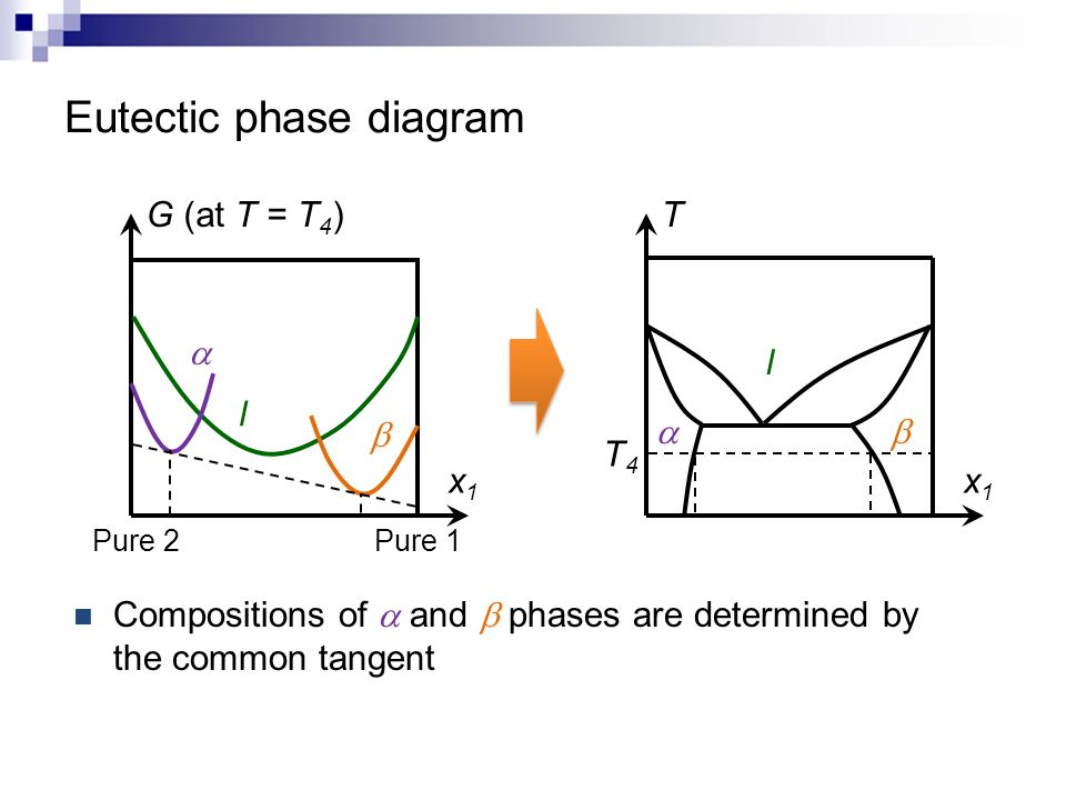 Eutectic phase diagram