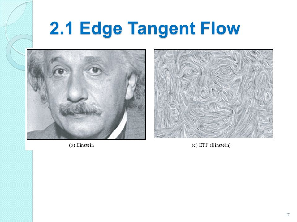 2.1 Edge Tangent Flow