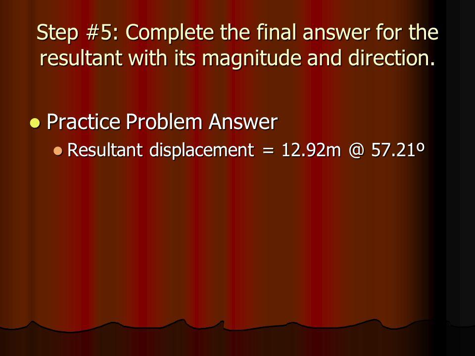 Practice Problem Answer