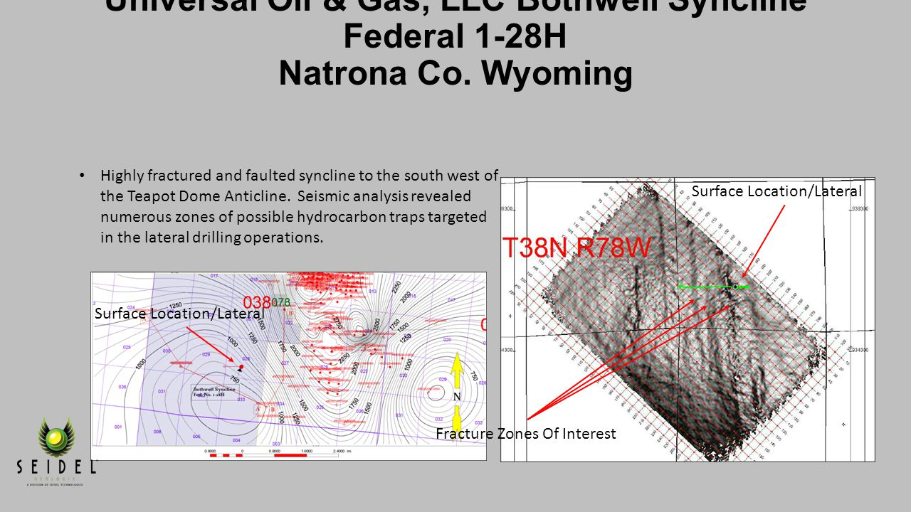 Universal Oil & Gas, LLC Bothwell Syncline Federal 1-28H Natrona Co