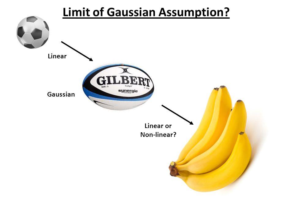 Limit of Gaussian Assumption