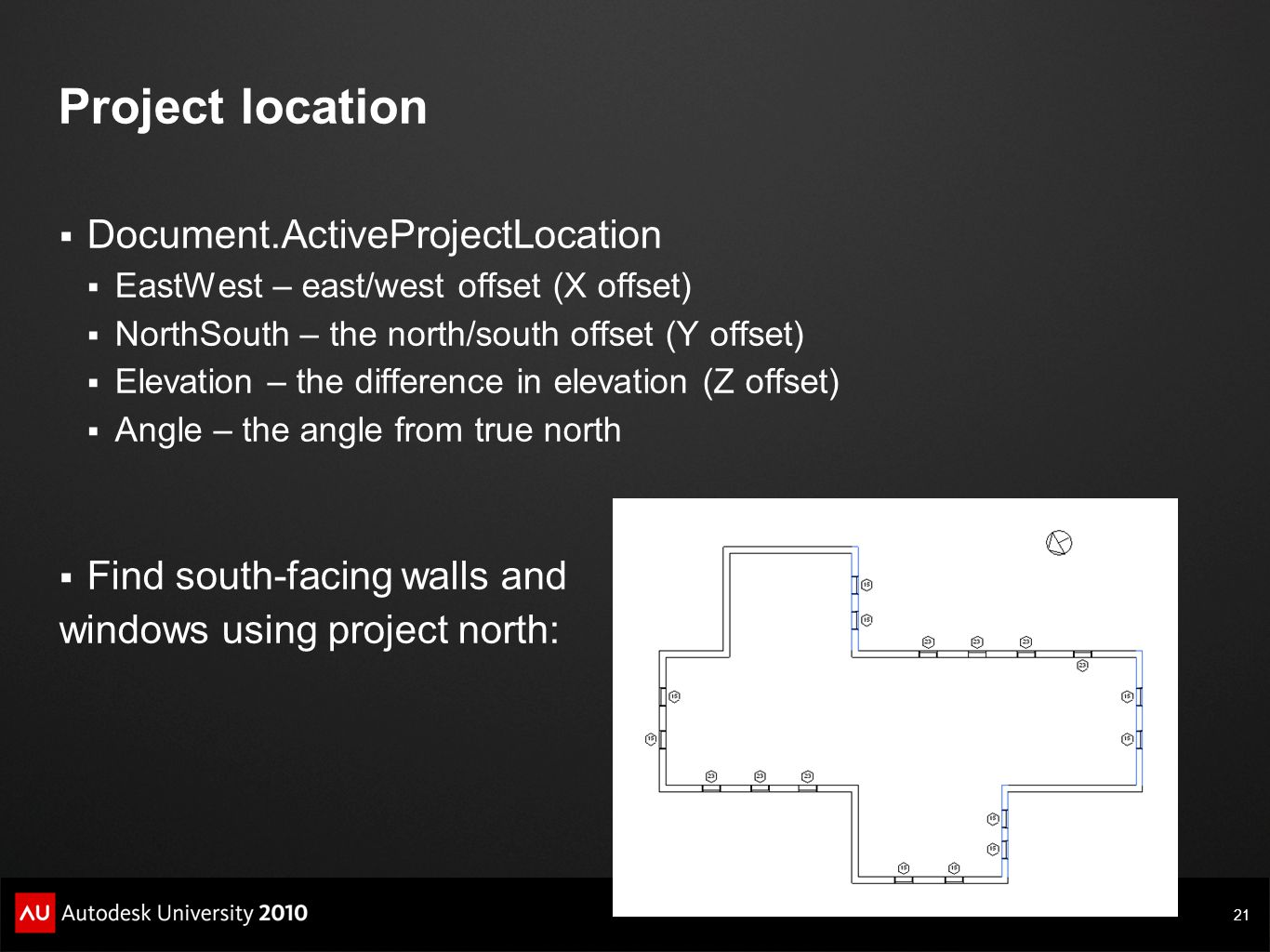 Project location Document.ActiveProjectLocation