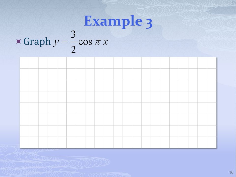Example 3 Graph