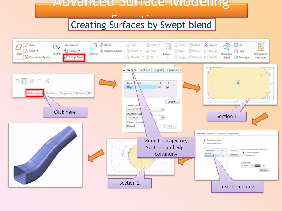Advanced Surface Modeling Functions