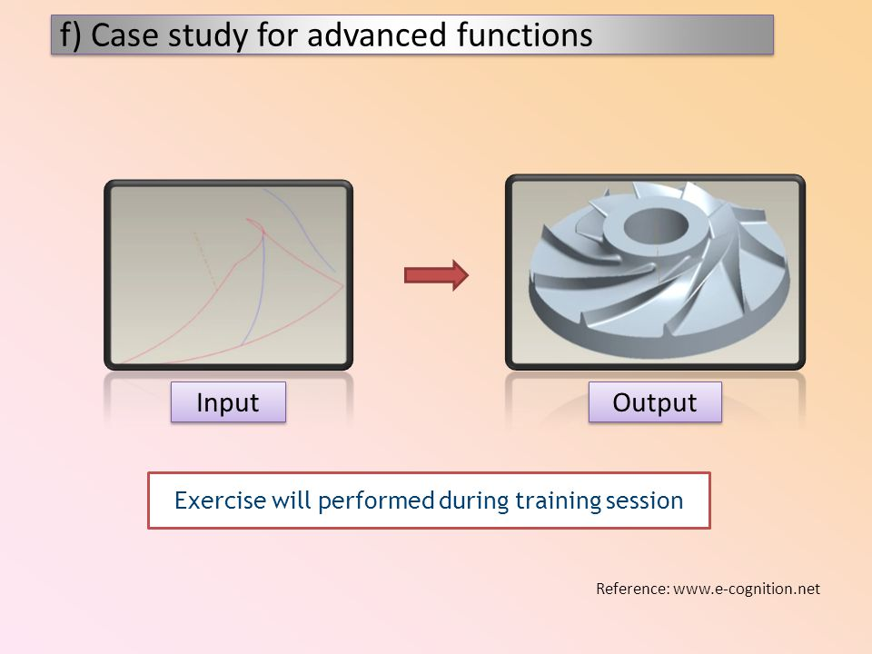 Exercise will performed during training session