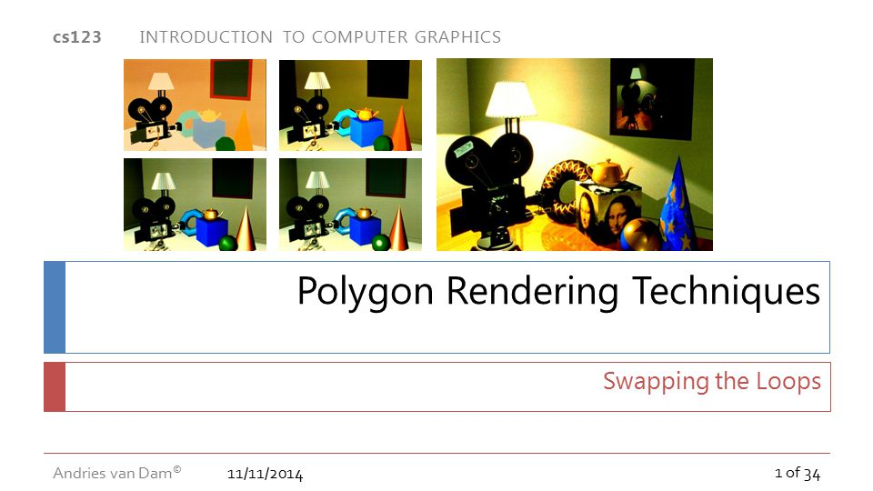 Polygon Rendering Techniques