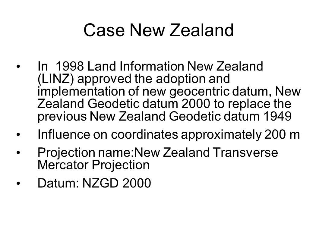 Case New Zealand