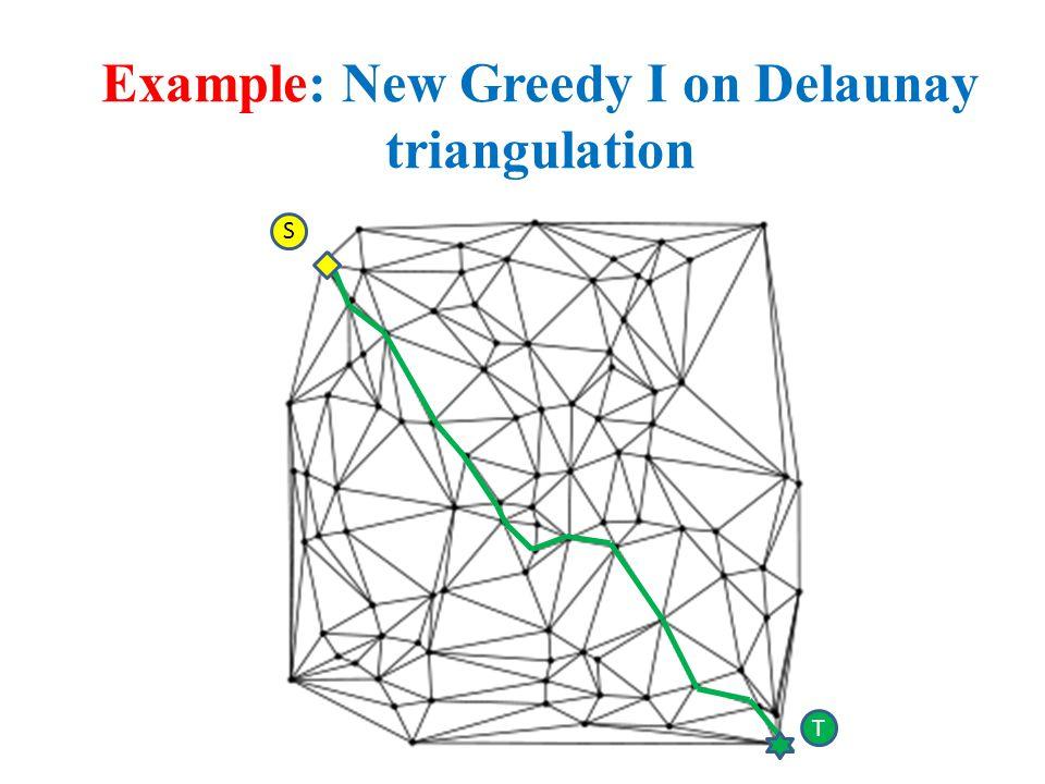 Example: New Greedy I on Delaunay triangulation