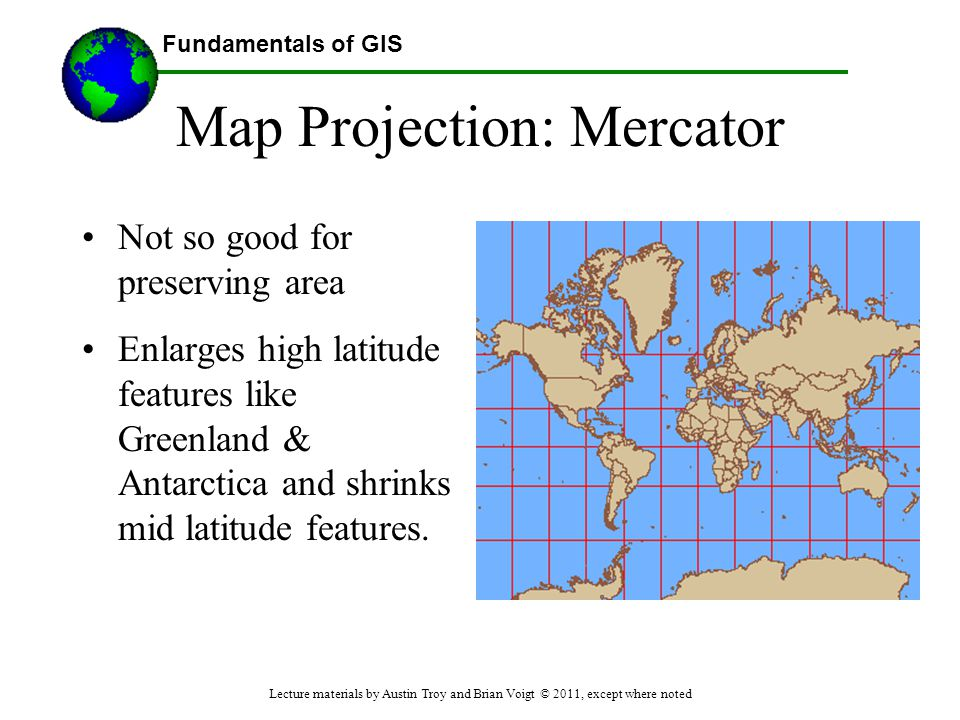 Map Projection: Mercator