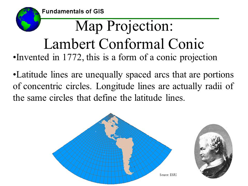 Map Projection: Lambert Conformal Conic