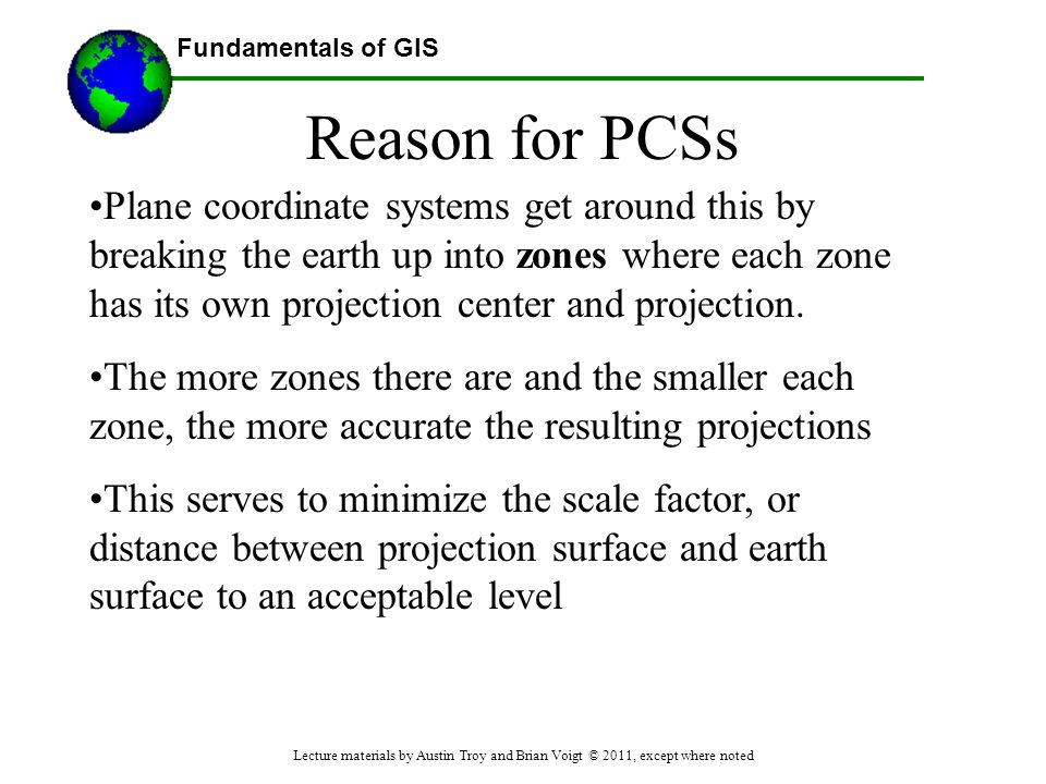 Reason for PCSs