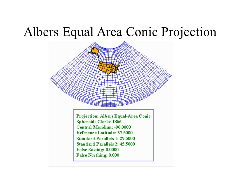 Albers Equal Area Conic Projection