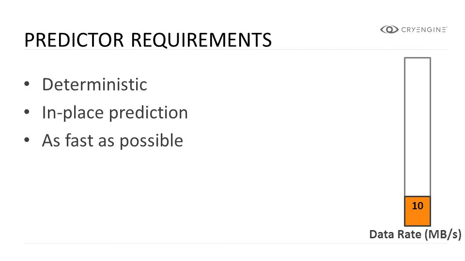 Predictor Requirements