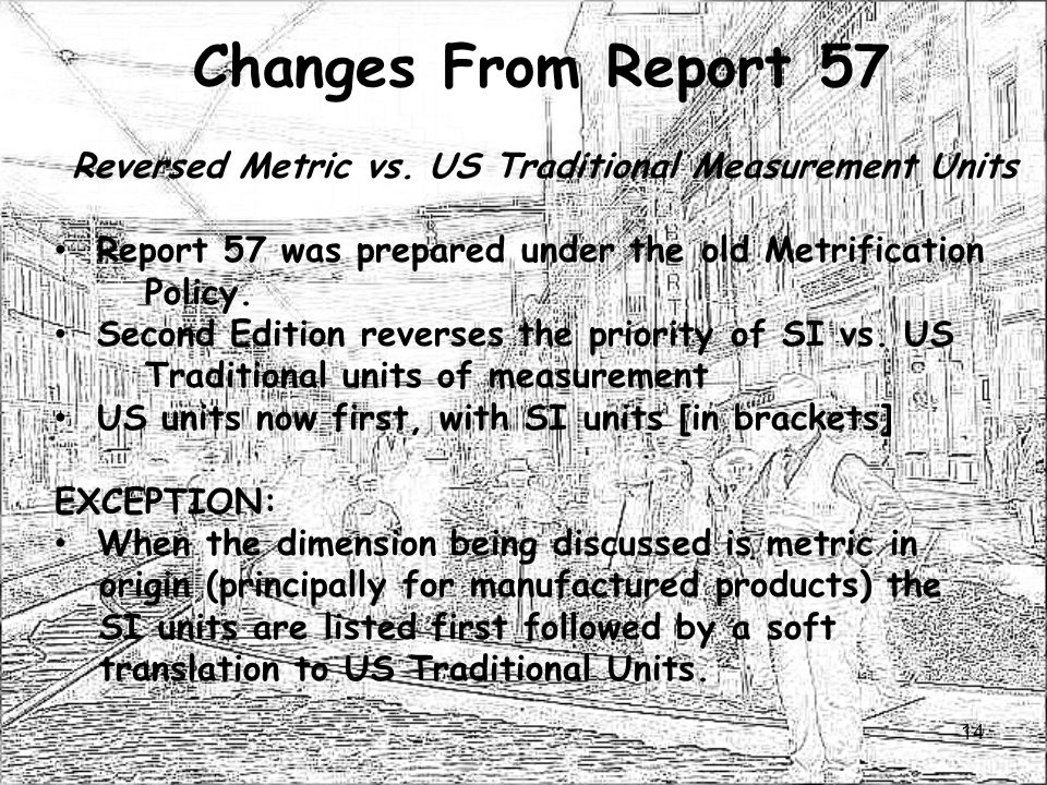 Reversed Metric vs. US Traditional Measurement Units