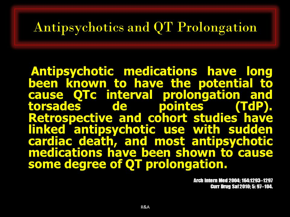 Antipsychotics and QT Prolongation