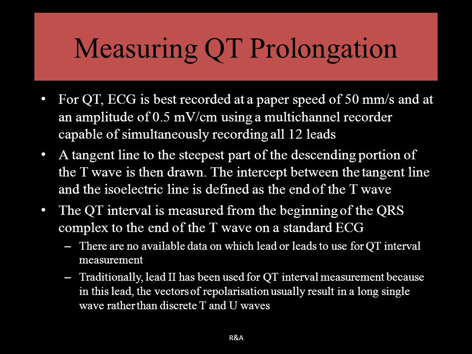 Measuring QT Prolongation