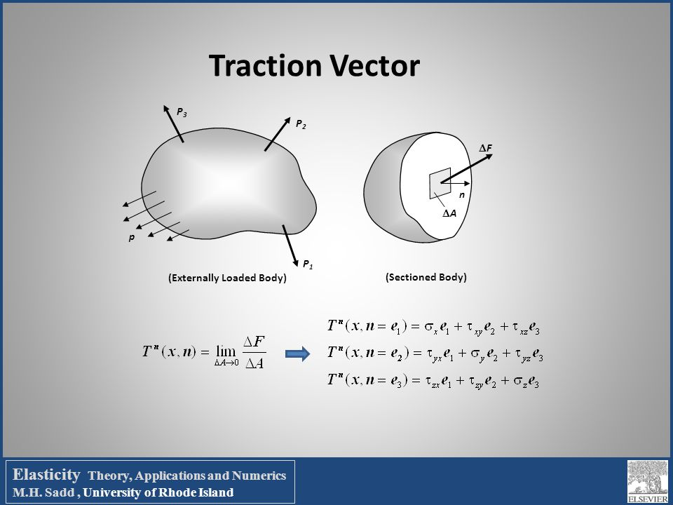 Elasticity Theory, Applications and Numerics M. H