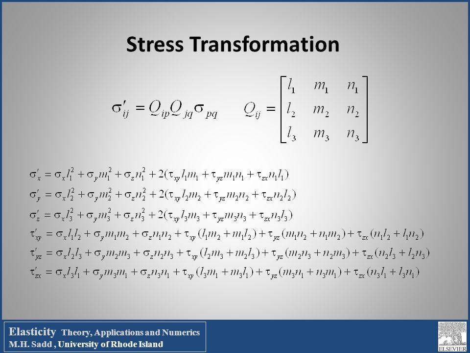 Stress Transformation