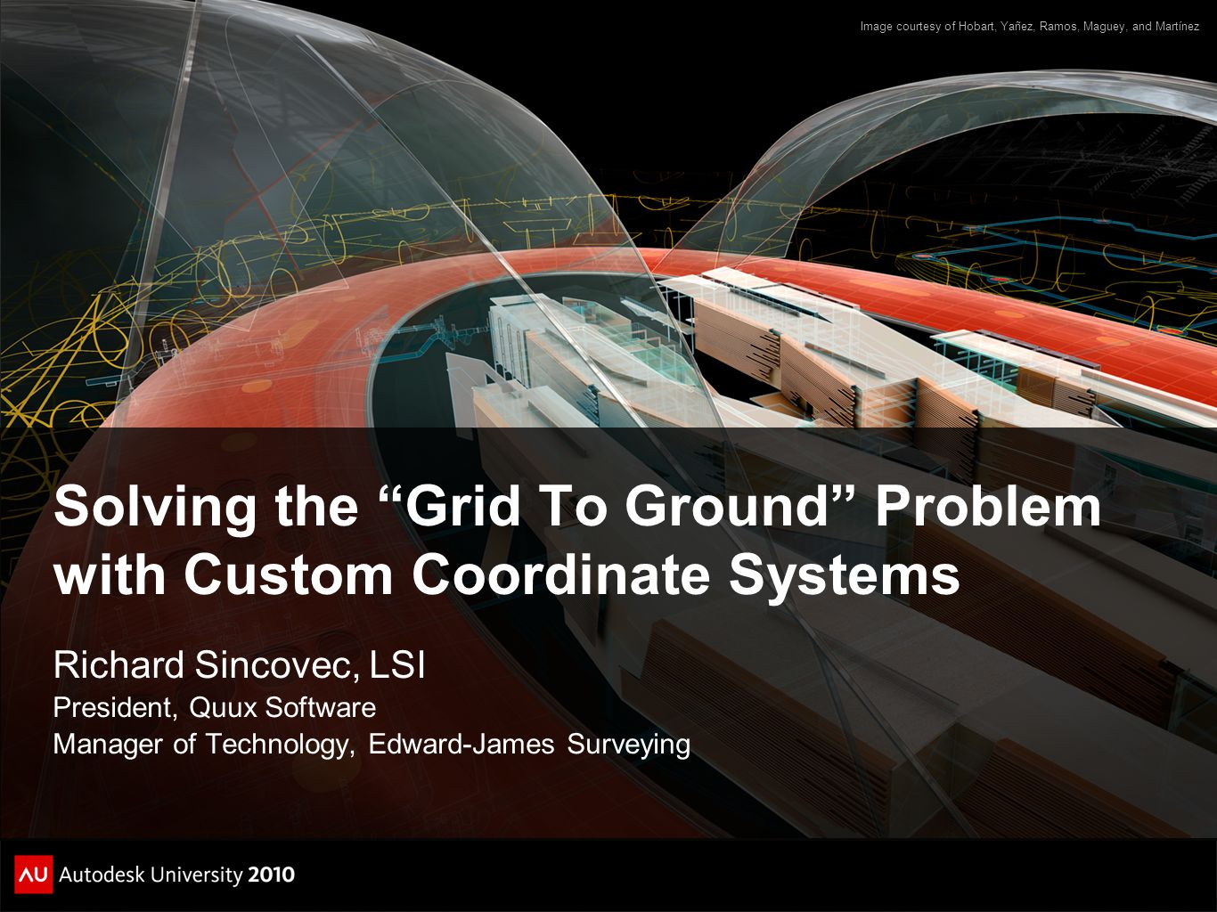 Solving the Grid To Ground Problem with Custom Coordinate Systems