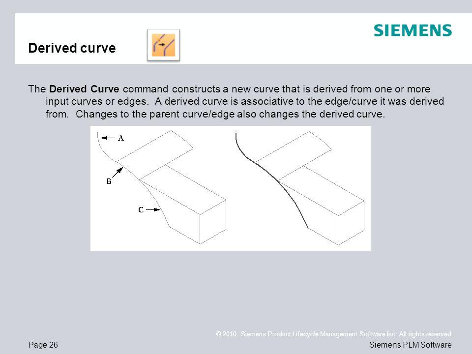 Derived curve
