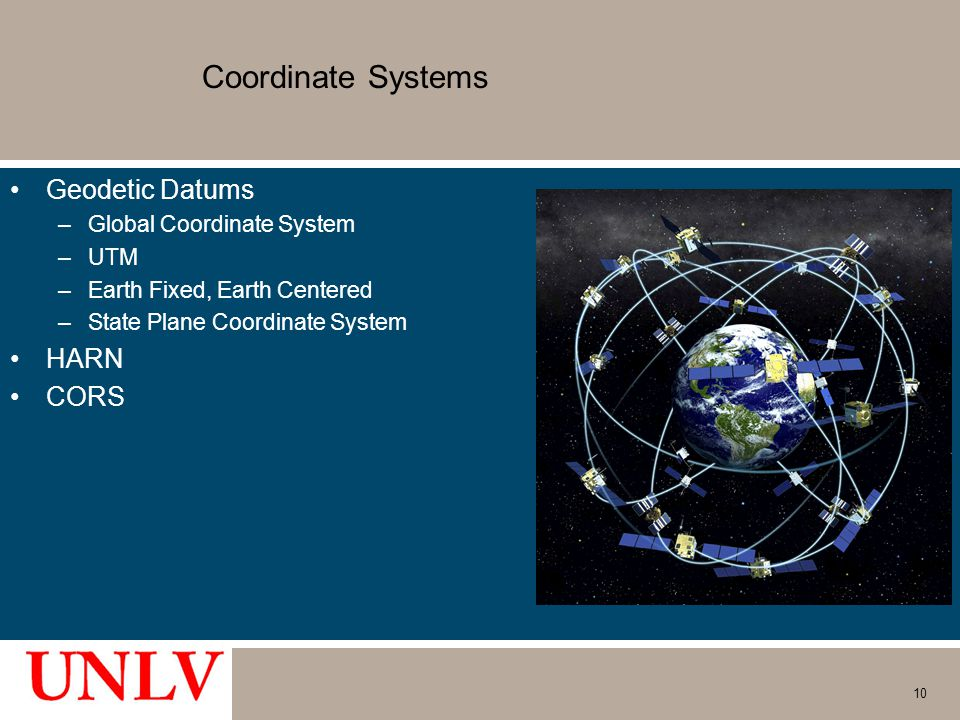 Coordinate Systems Geodetic Datums HARN CORS Global Coordinate System