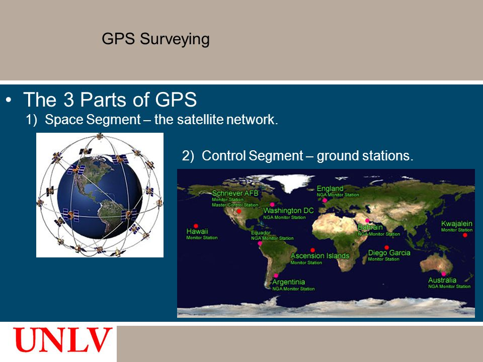 The 3 Parts of GPS GPS Surveying