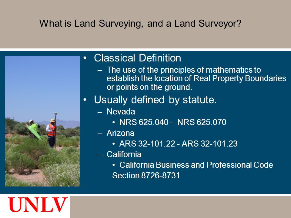 What is Land Surveying, and a Land Surveyor