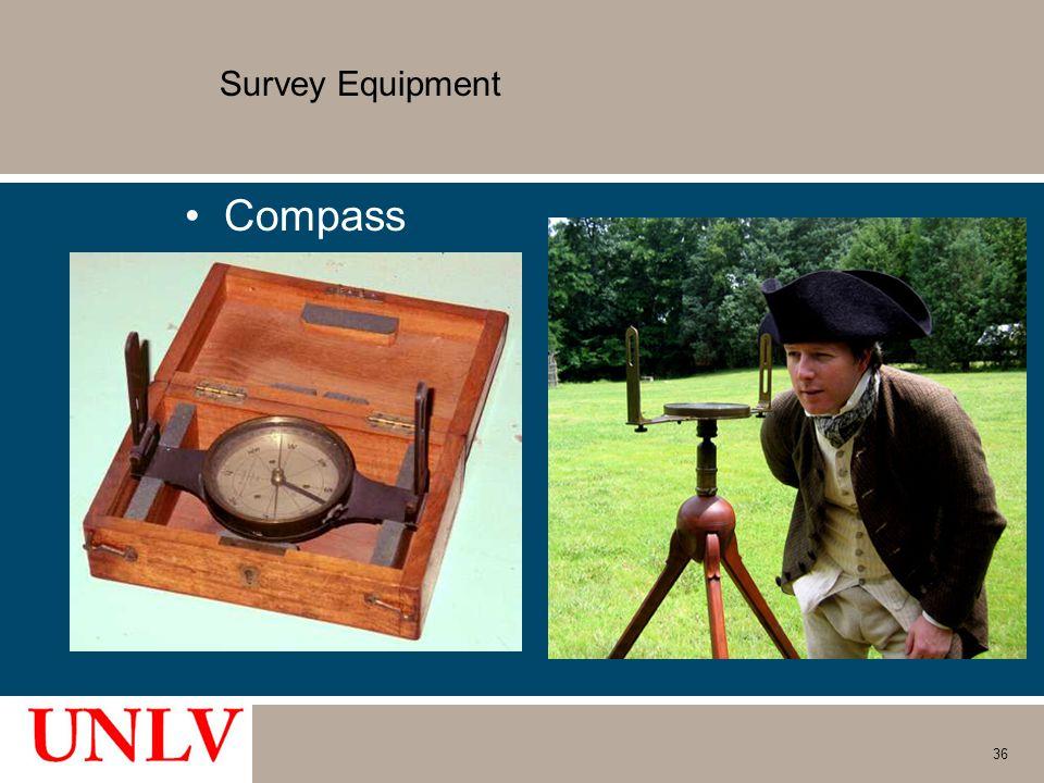 Survey Equipment Compass