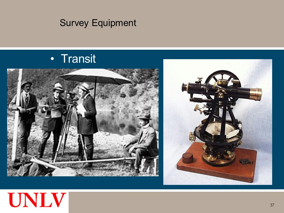 Survey Equipment Transit