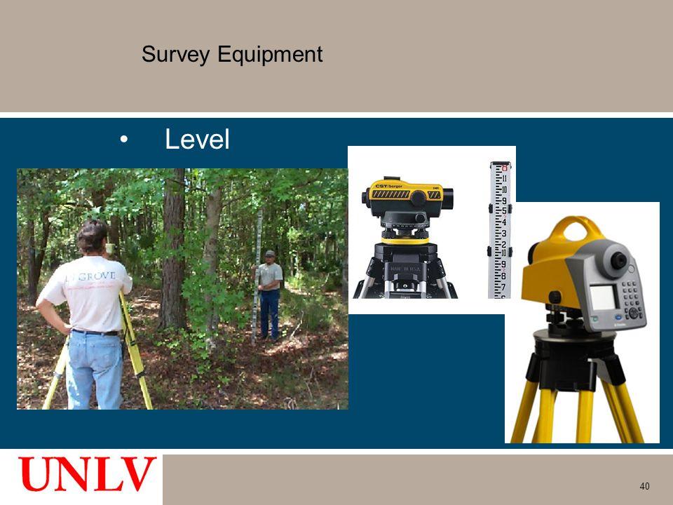 Survey Equipment Level