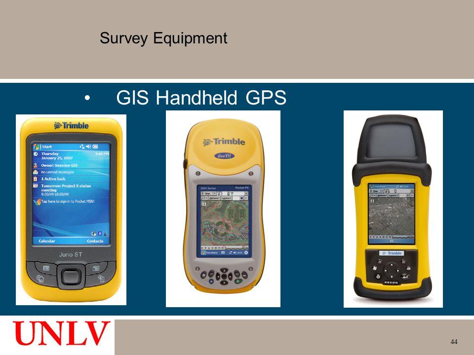 Survey Equipment GIS Handheld GPS