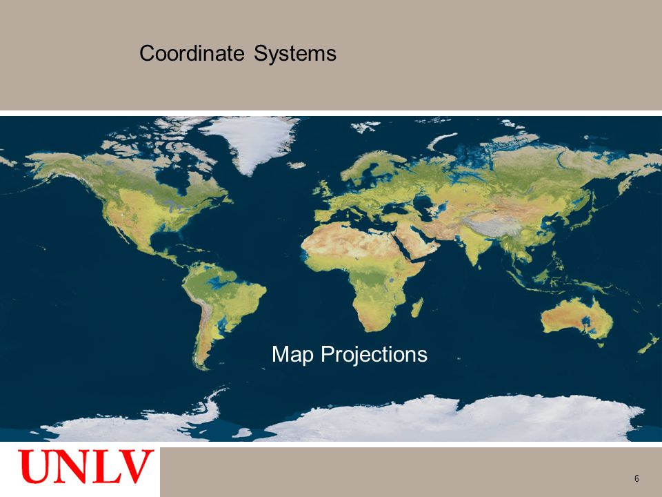 Coordinate Systems Map Projections