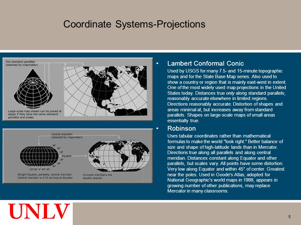 Coordinate Systems-Projections