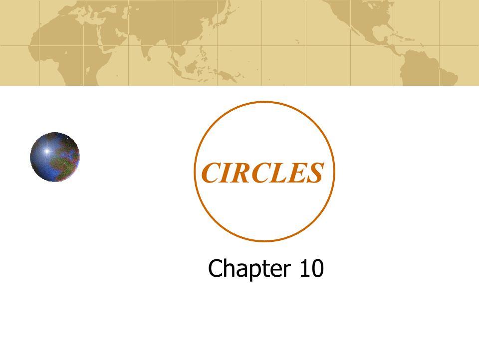 CIRCLES Chapter 10