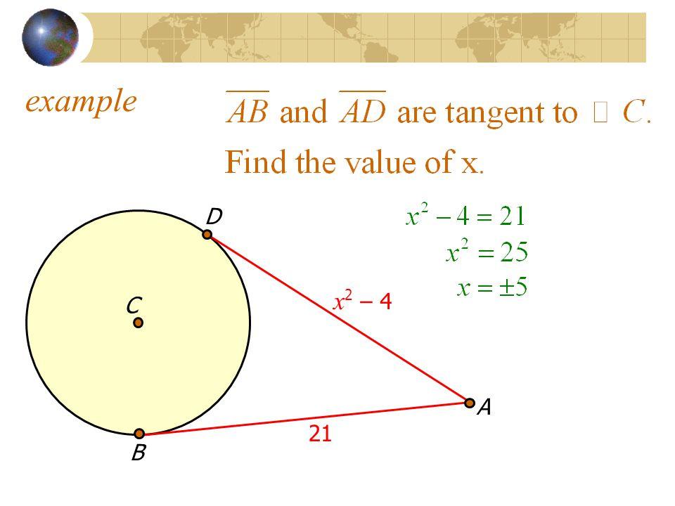 example D x2 – 4 C A 21 B