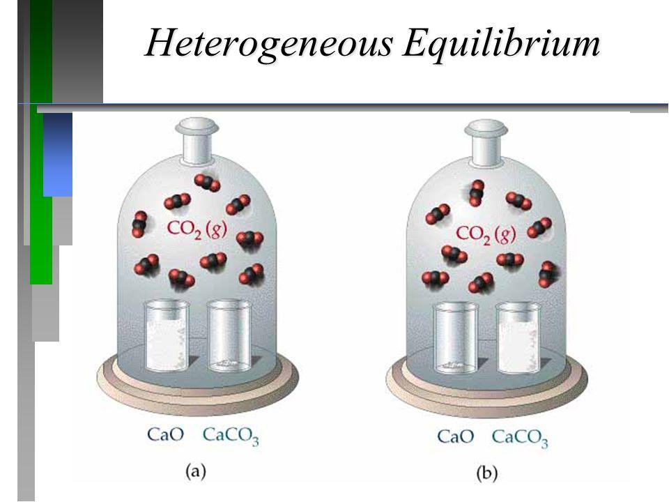Heterogeneous Equilibrium