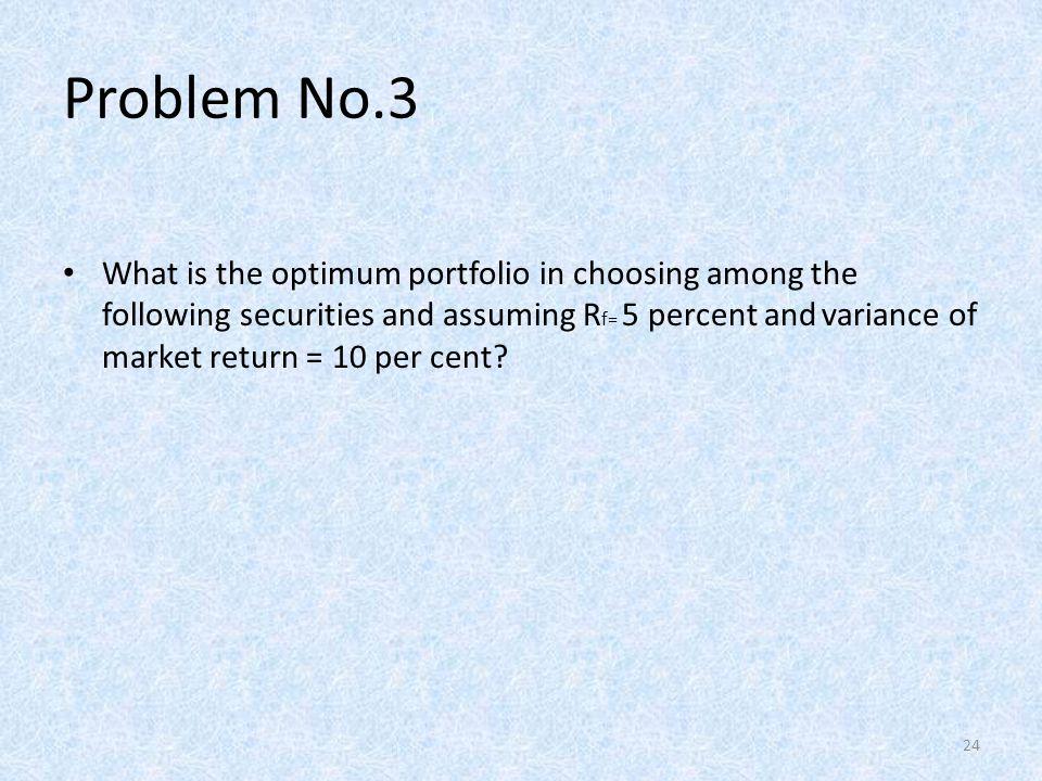 Problem No.3