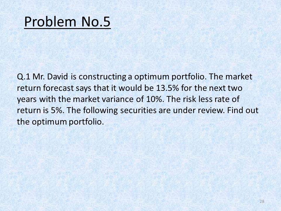 Problem No.5