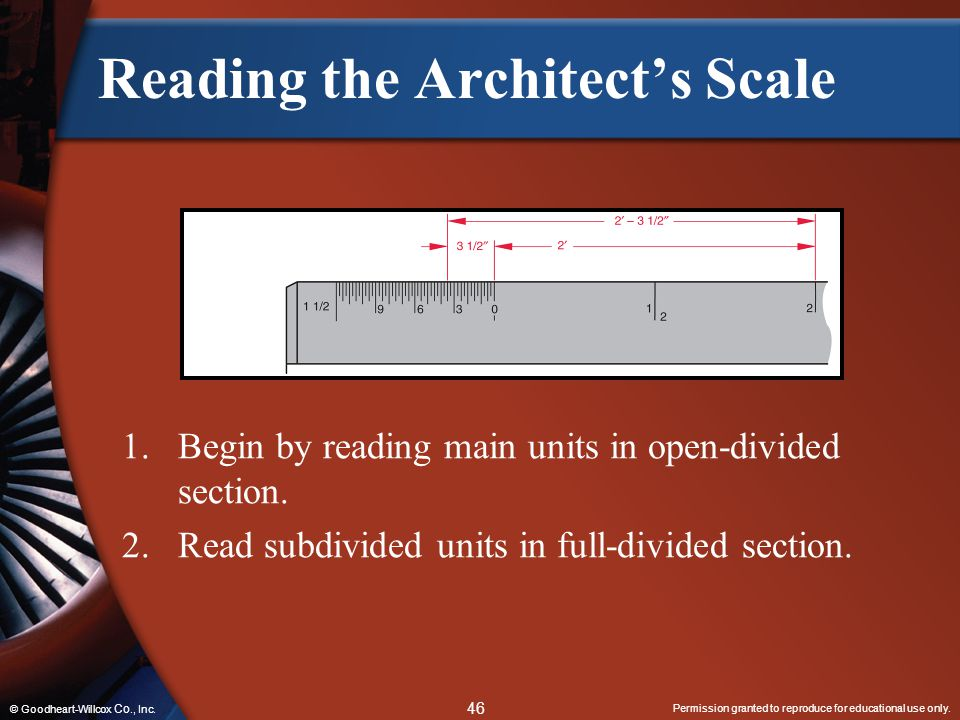 Reading the Architect's Scale