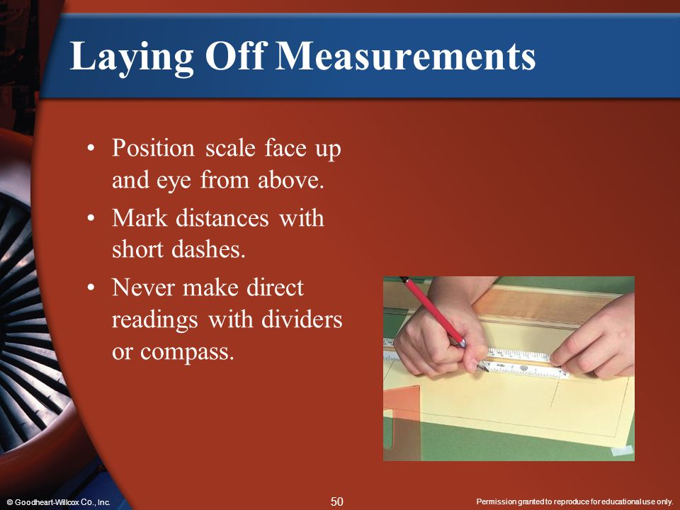 Laying Off Measurements