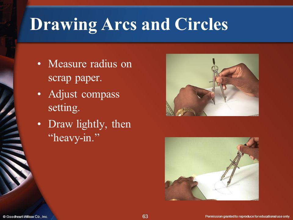 Drawing Arcs and Circles