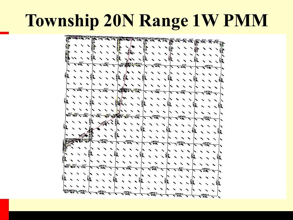 Township 20N Range 1W PMM