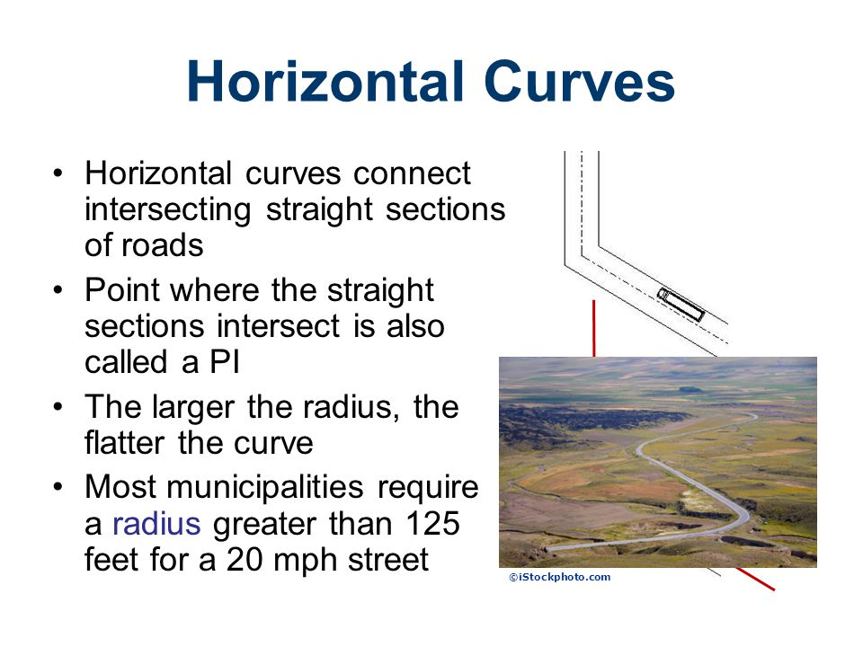 Road Design Civil Engineering and Architecture. Unit 3 – Lesson 3.4 – Site Considerations. Horizontal Curves.