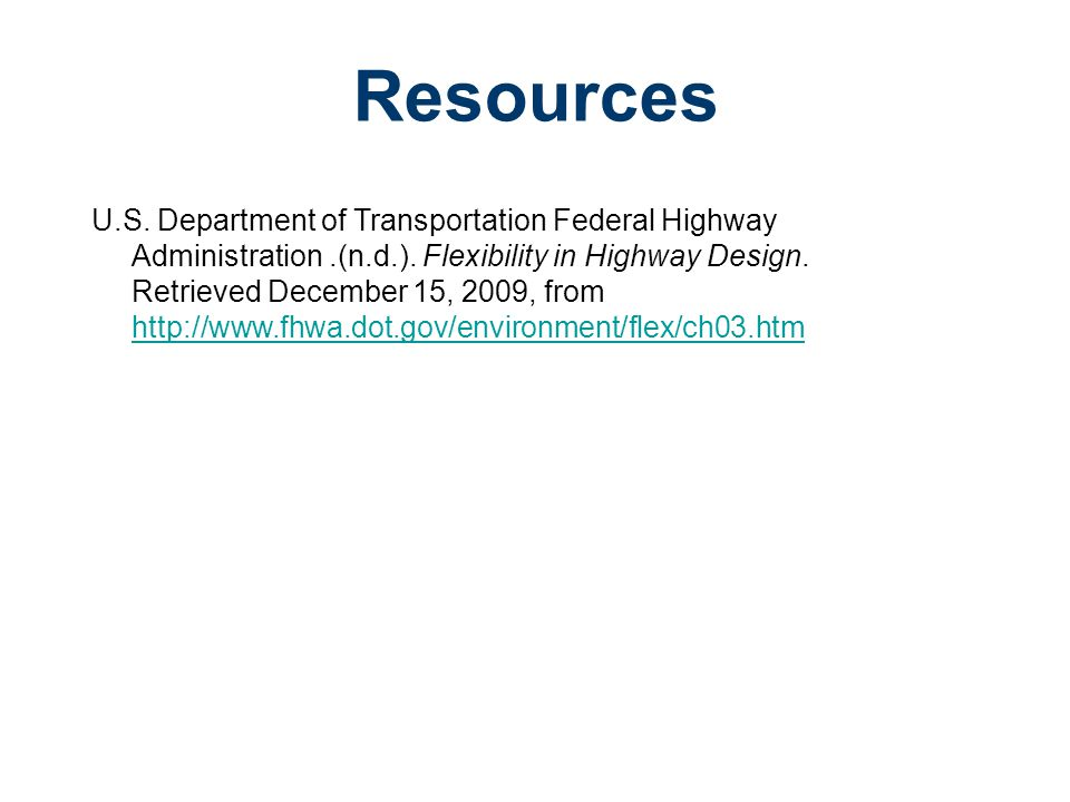 Road Design Civil Engineering and Architecture. Unit 3 – Lesson 3.4 – Site Considerations. Resources.