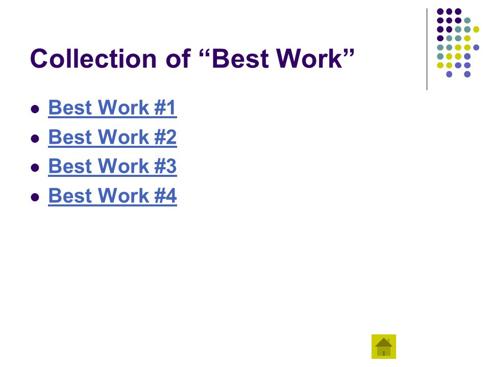 Collection of Best Work