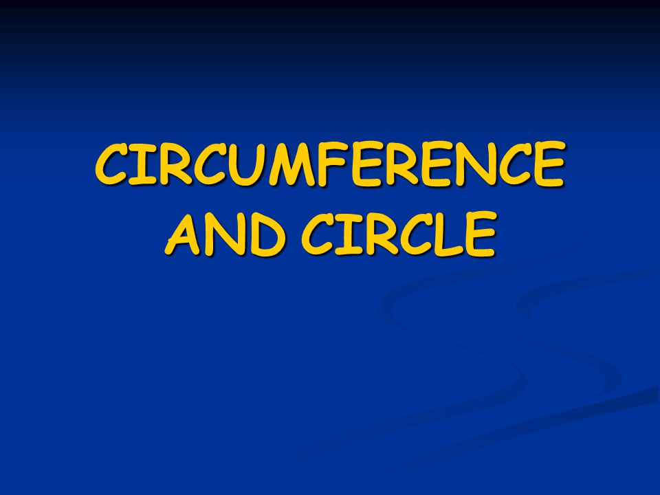 how to find points on a circle circumference
