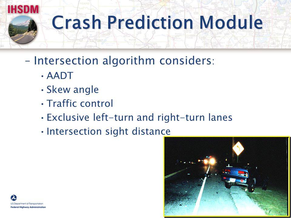 Crash Prediction Module
