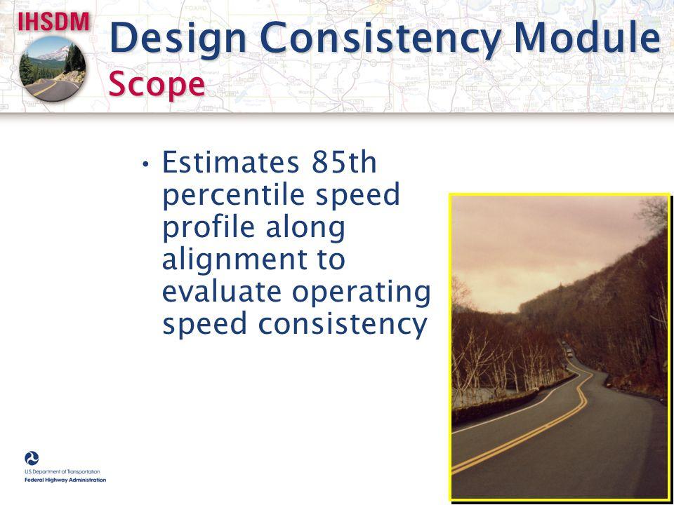 Design Consistency Module Scope