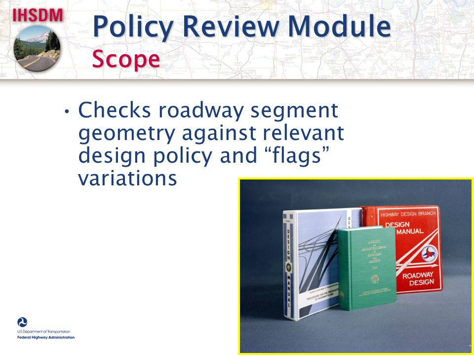 Policy Review Module Scope